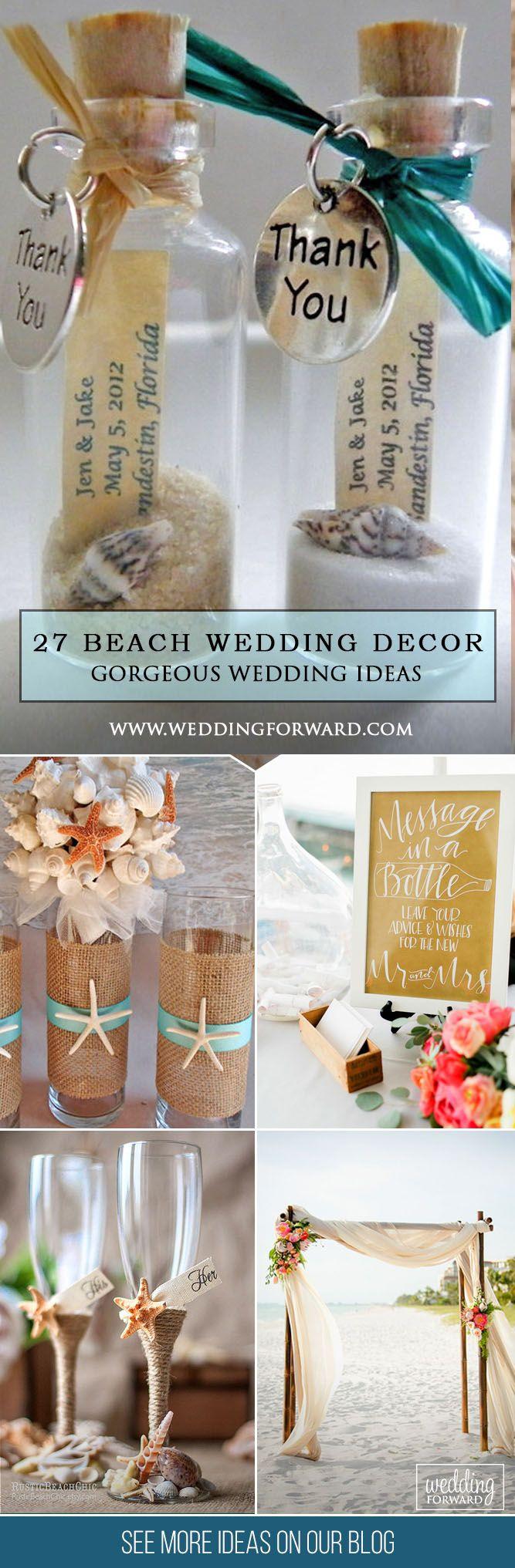 Best ideas about DIY Beach Wedding Ideas . Save or Pin 17 Best ideas about Beach Theme Centerpieces on Pinterest Now.