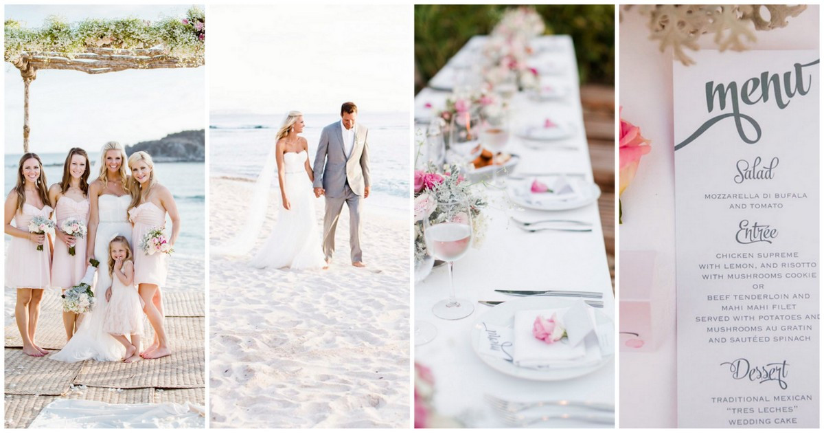Best ideas about DIY Beach Wedding Ideas . Save or Pin 25 Beach Themed Wedding Projects & DIY Inspiration Now.