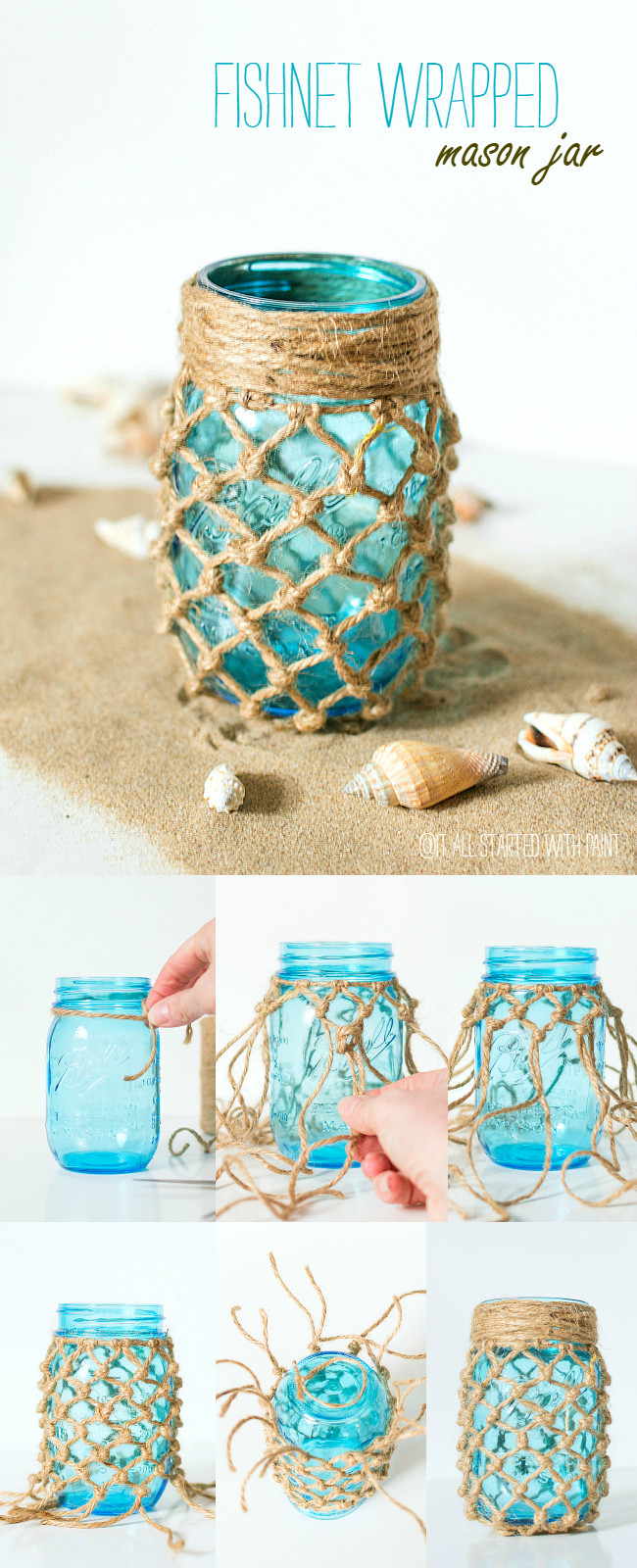 Best ideas about DIY Beach Wedding Ideas . Save or Pin Ten Inspirational DIY Mason Jar Ideas For Weddings Now.
