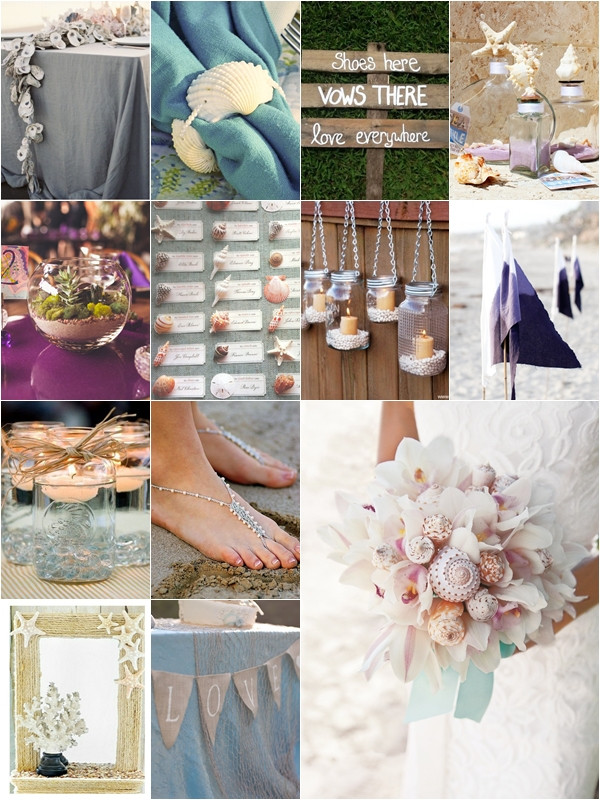 Best ideas about DIY Beach Wedding Ideas . Save or Pin 25 Beach Themed Wedding Projects & DIY Ideas Archives Now.