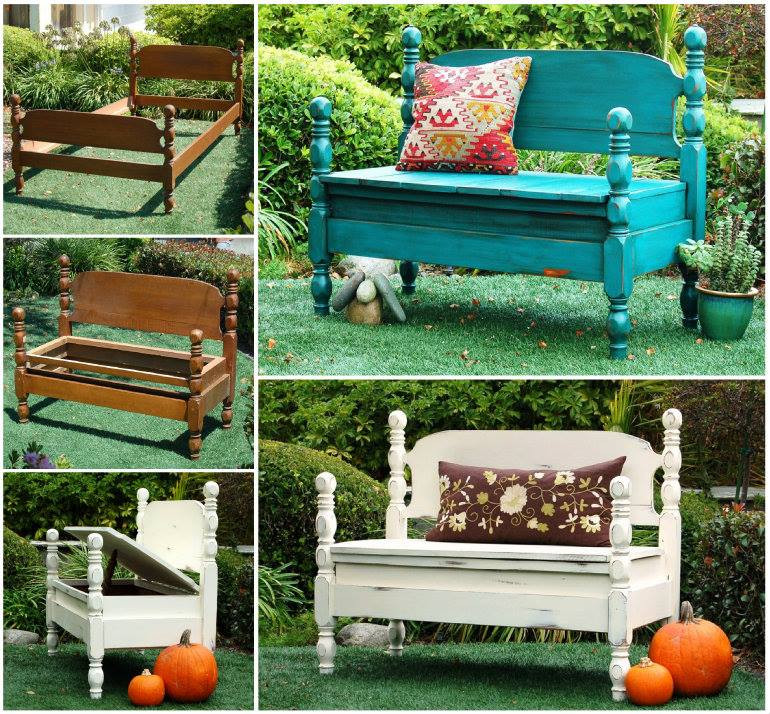 Best ideas about DIY Bed Bench . Save or Pin Wonderful DIY Upcycled Dresser Bench Now.