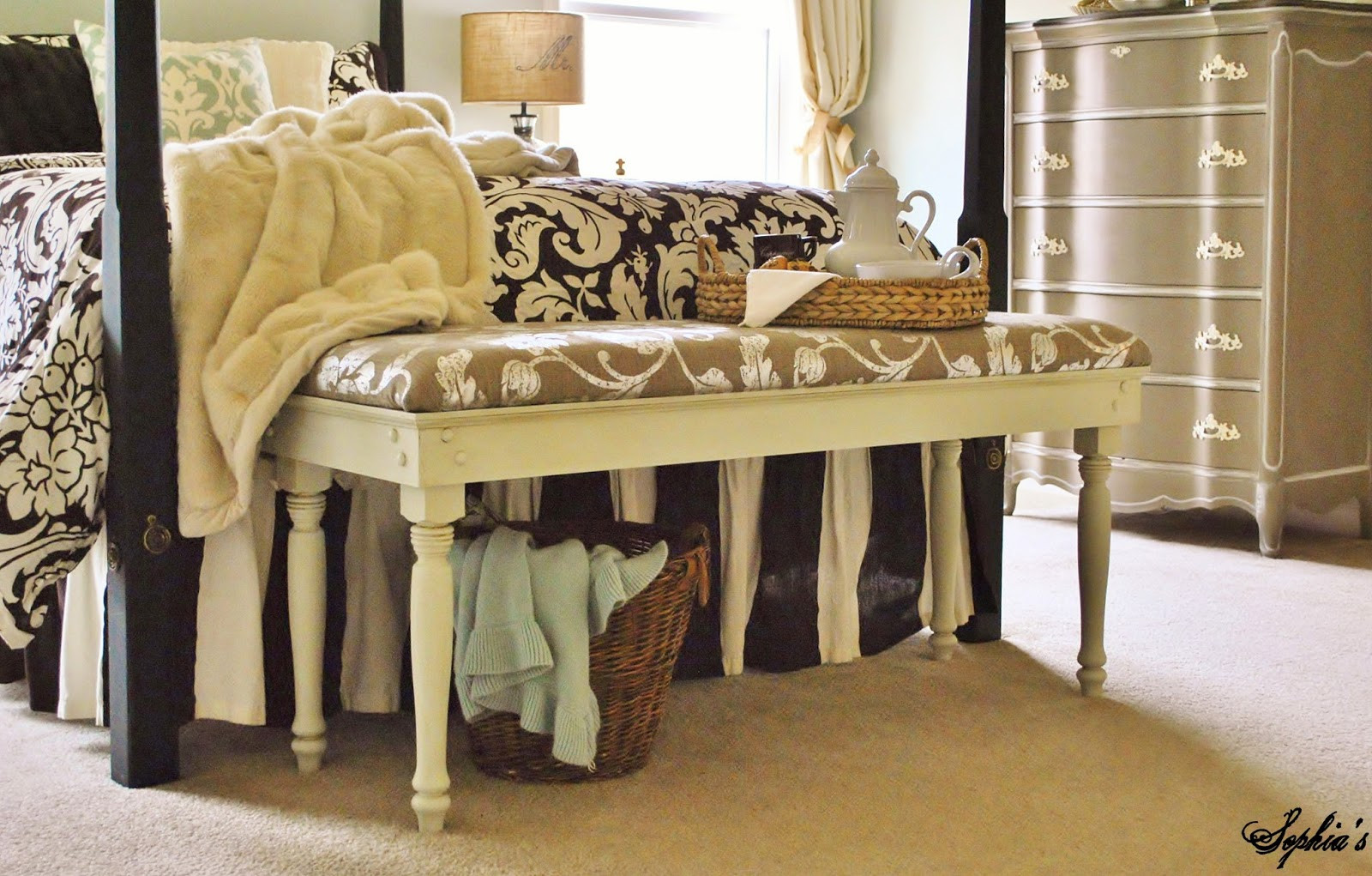 Best ideas about DIY Bed Bench . Save or Pin Sophia s DIY Bench Tutorial Now.