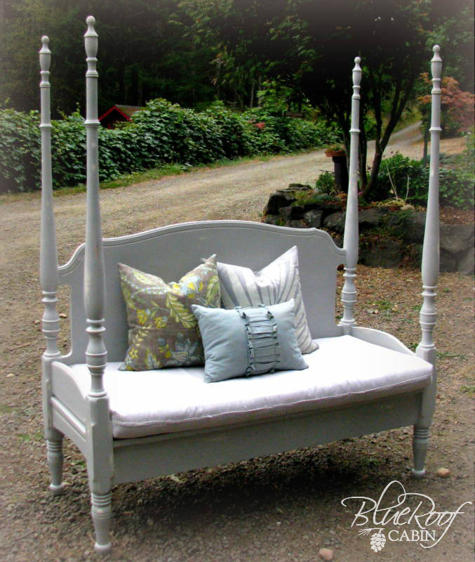Best ideas about DIY Bed Bench . Save or Pin Wood working Idea Diy bench from headboard Now.