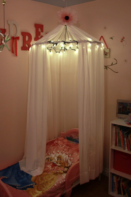 Best ideas about DIY Bed Canopy With Lights . Save or Pin 10 Beautiful DIY Canopy Beds Now.