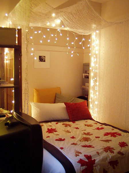 Best ideas about DIY Bed Canopy With Lights . Save or Pin The Lovely Side Do It Yourself Bed Canopies Now.