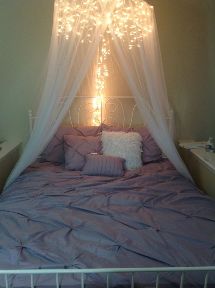 Best ideas about DIY Bed Canopy With Lights . Save or Pin 7 Dreamy DIY Bedroom Canopies – DIY Hobbies To Do Now.