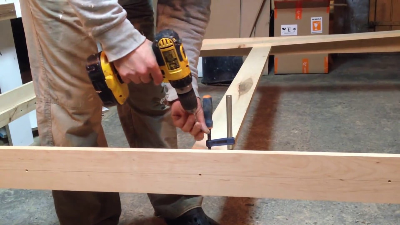 Best ideas about DIY Bed Frame Plans . Save or Pin Queen Size Bed Frame DIY Now.