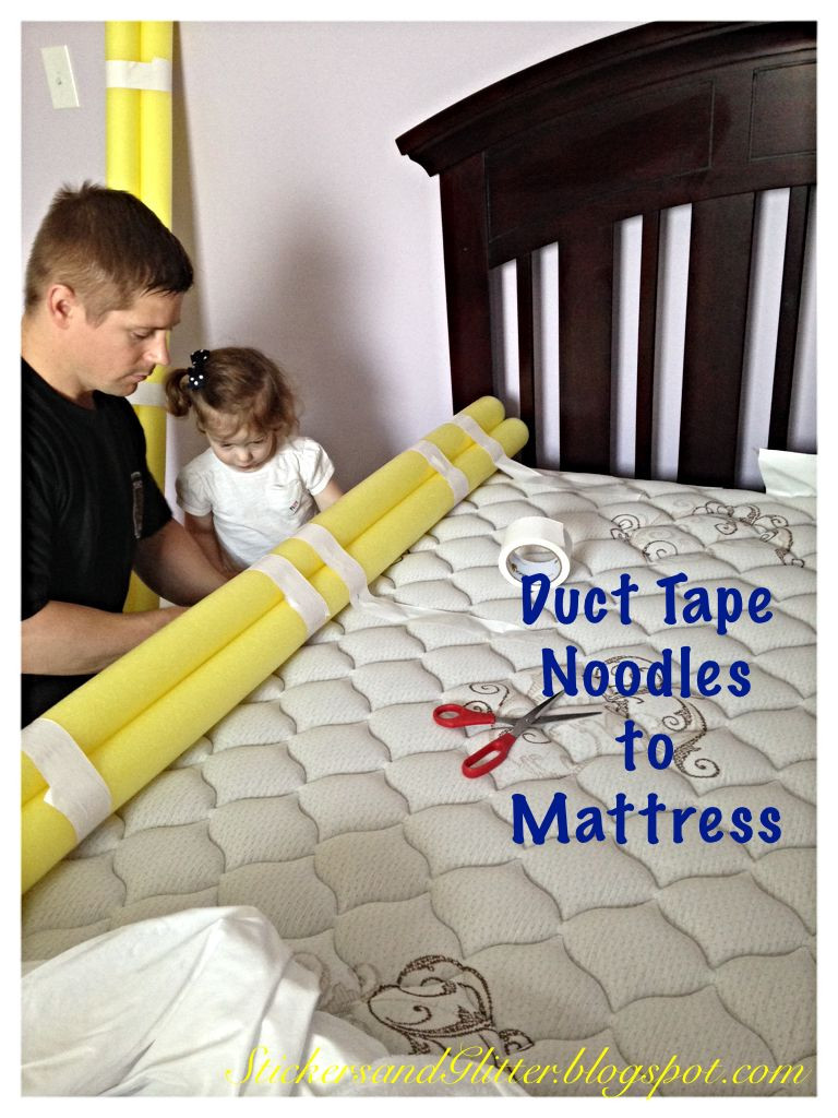 Best ideas about DIY Bed Rails For Toddlers . Save or Pin Stickers & Glitter DIY Toddler Bed Rails Now.