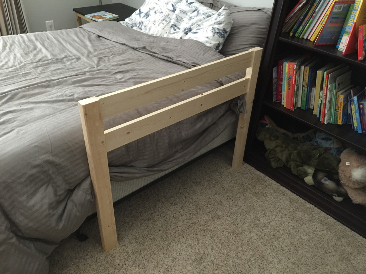 Best ideas about DIY Bed Rails For Toddlers . Save or Pin DIY Toddler Bed Rail Free Plans Now.