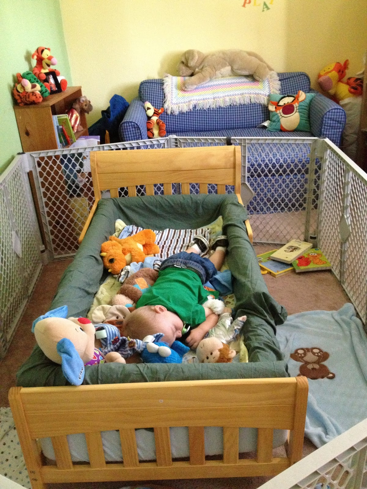 Best ideas about DIY Bed Rails For Toddlers . Save or Pin Mama Frankenstein DIY Toddler Bed Bumper Tutorial Now.