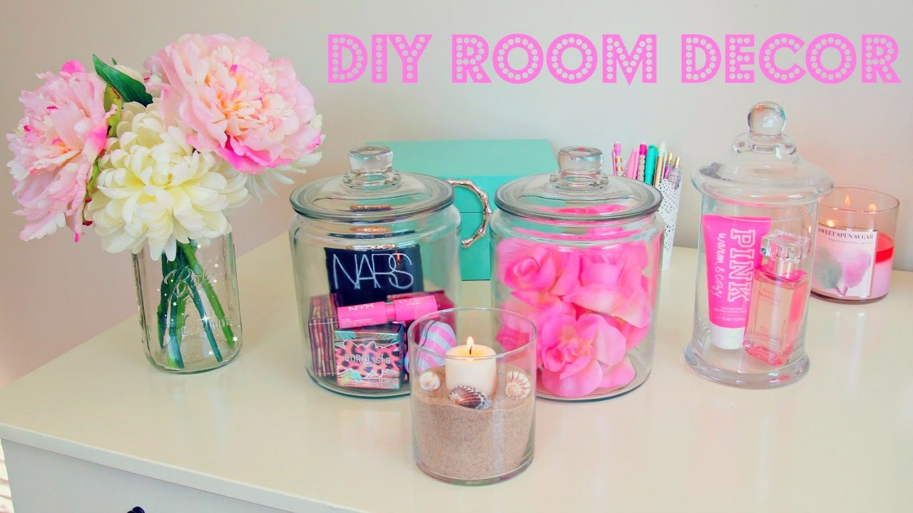 Best ideas about Diy Bedroom Decor . Save or Pin DIY Room Decor Inexpensive Room Decor Ideas Using Jars Now.