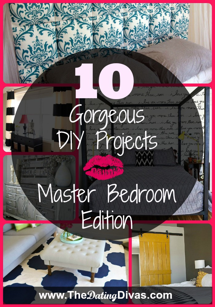Best ideas about Diy Bedroom Decor . Save or Pin 10 Gorgeous DIY Projects Now.