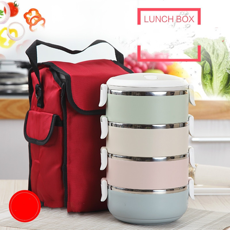 Best ideas about DIY Bento Box . Save or Pin Food Fruit Container Storage Bento Lunch Box Set Stainless Now.