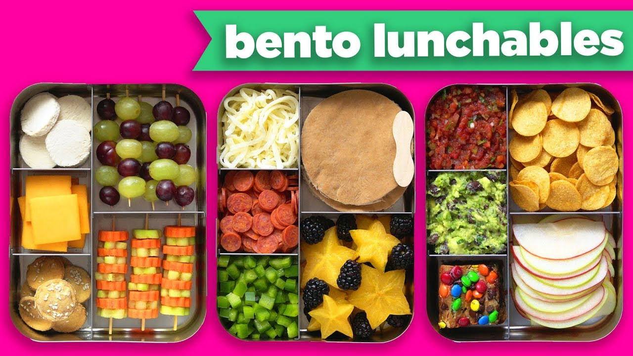 Best ideas about DIY Bento Box . Save or Pin NEW Bento Box Healthy Lunches – DIY LUNCHABLES Mind Now.