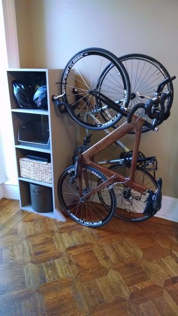 Best ideas about DIY Bicycle Rack . Save or Pin Best 25 Bike storage ideas on Pinterest Now.
