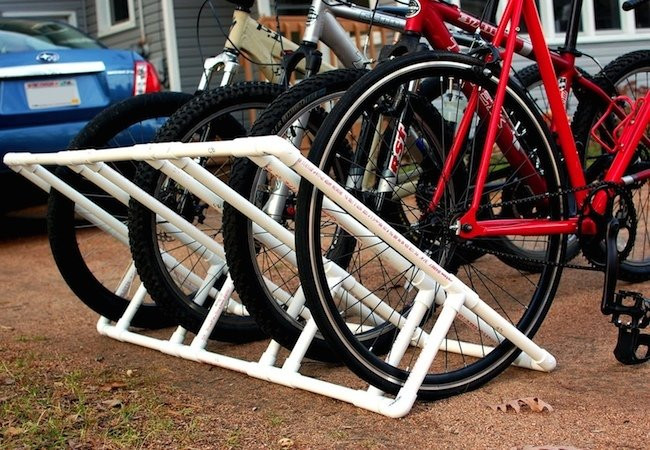 Best ideas about DIY Bicycle Rack . Save or Pin DIY Bike Rack Weekend Projects Bob Vila Now.