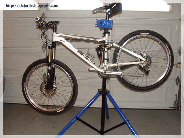 Best ideas about DIY Bike Repair Stand . Save or Pin DIY Portable Bike Repair Stand Now.