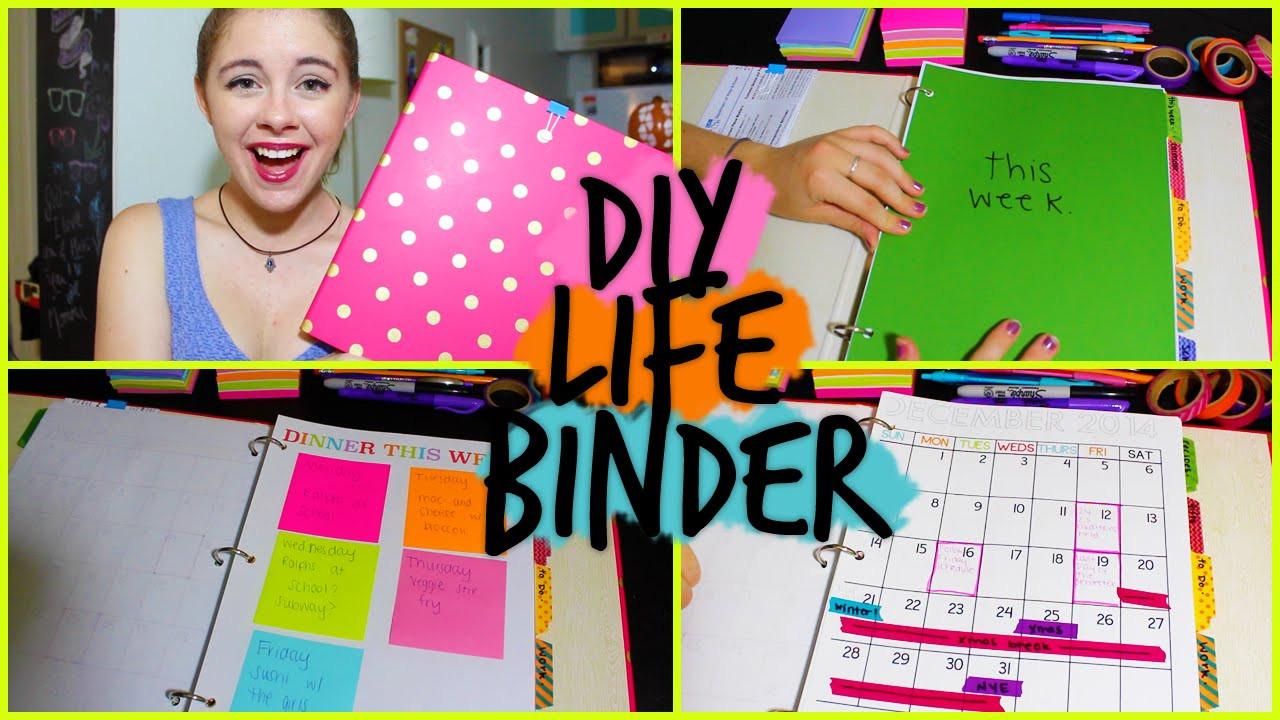 Best ideas about DIY Binder Organization . Save or Pin DIY Life Binder Organize your Calendar Work School Now.