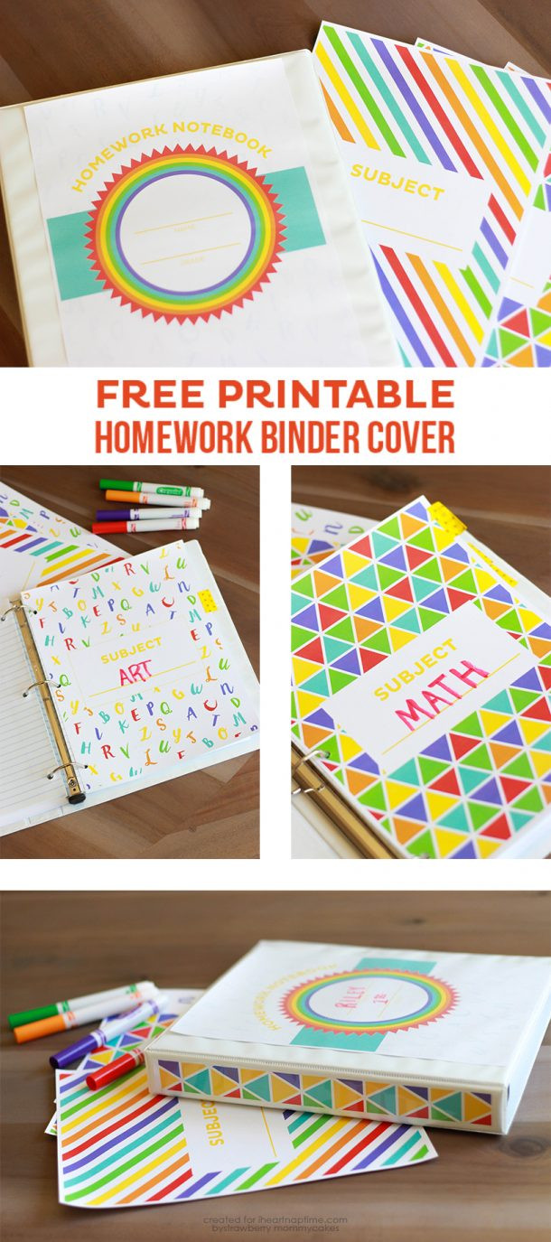 Best ideas about DIY Binder Organization . Save or Pin DIY Back to School Homework Stations landeelu Now.