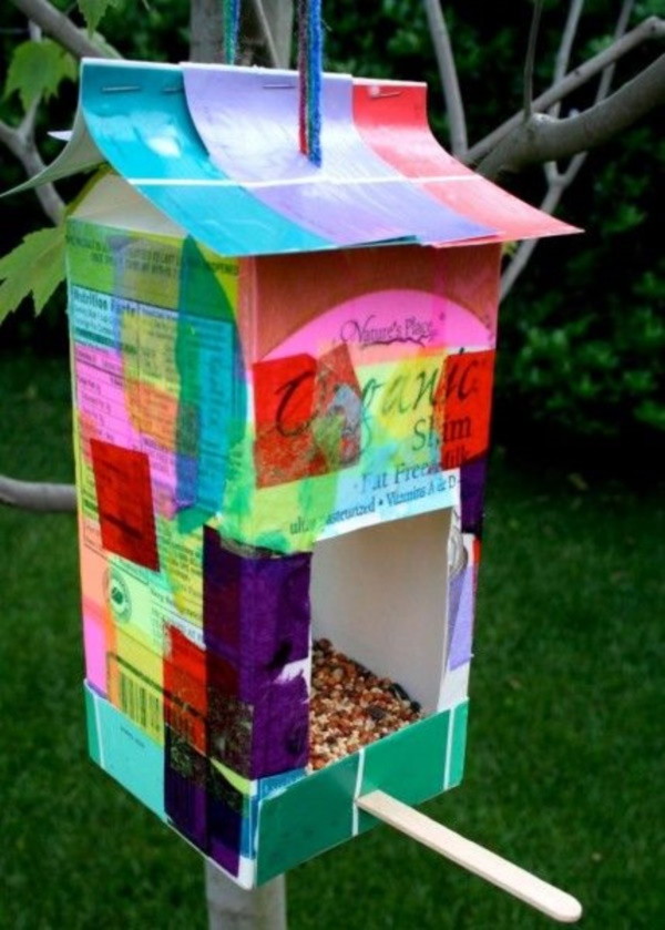 Best ideas about DIY Bird Feeders For Kids . Save or Pin 25 DIY Bird Feeder Ideas For Kids Bored Art Now.