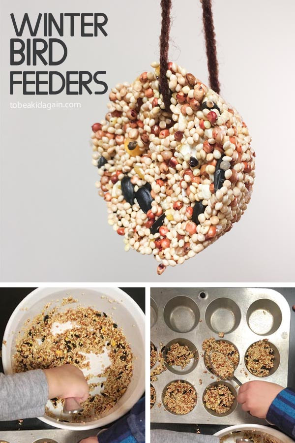 Best ideas about DIY Bird Feeders For Kids . Save or Pin Making Birdseed Cookies for a DIY Winter Bird Feeder To Now.