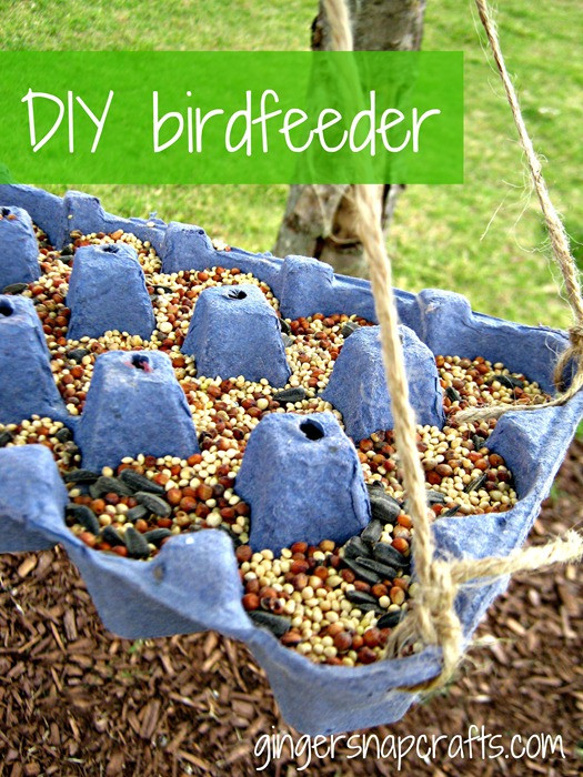 Best ideas about DIY Bird Feeders For Kids . Save or Pin 20 Homemade Bird Feeders To Wel e The Robins With Now.