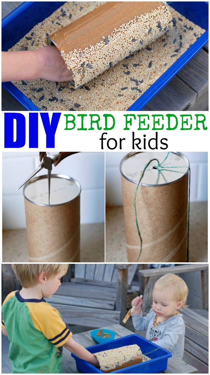 Best ideas about DIY Bird Feeders For Kids . Save or Pin DIY Bird Feeder for Kids inspired by Americano A Crafty Now.