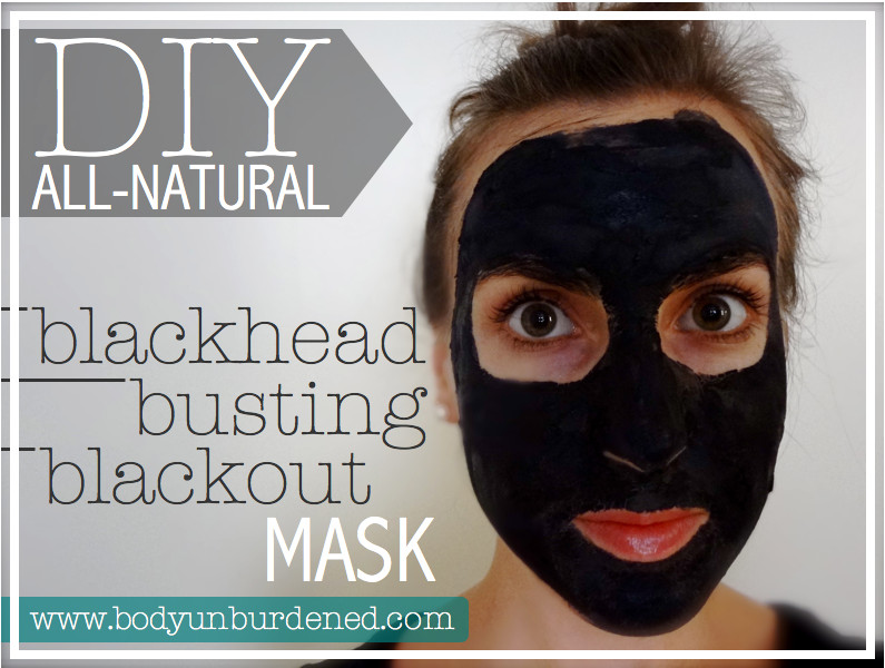 Best ideas about DIY Black Charcoal Mask . Save or Pin DIY All Natural Blackhead Busting Blackout Mask Now.