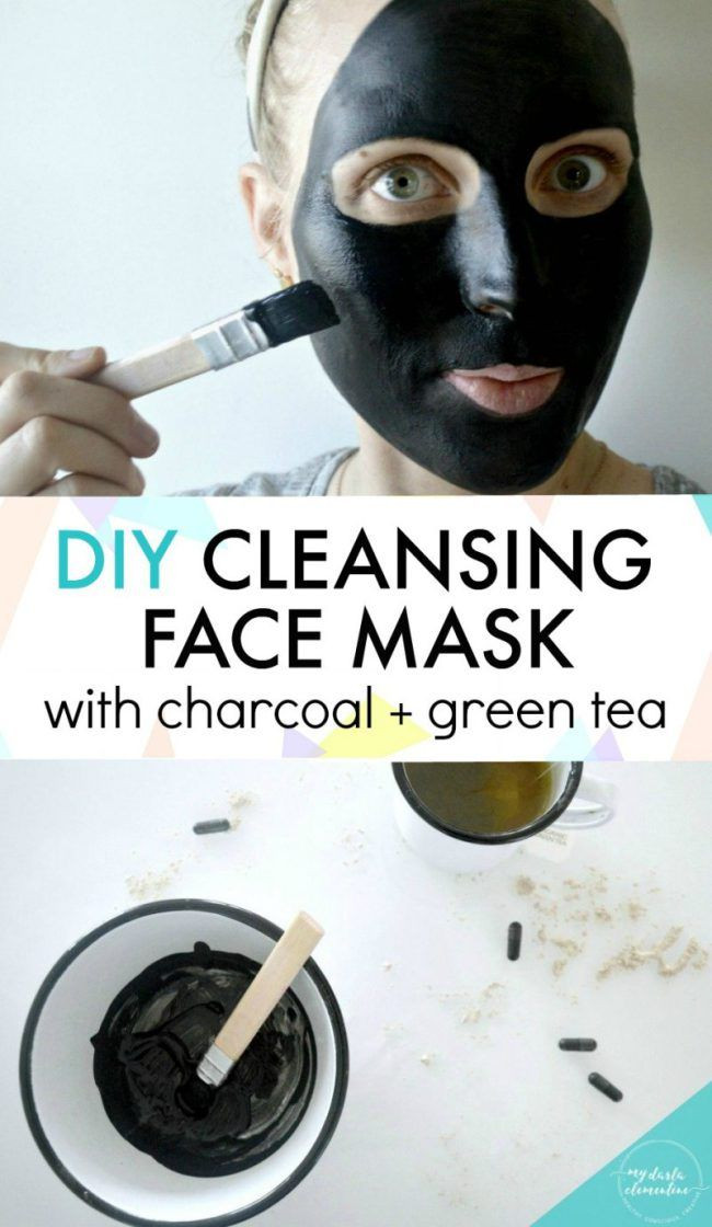 Best ideas about DIY Black Charcoal Mask . Save or Pin DIY Charcoal Face Mask with Green Tea Peppermint Now.