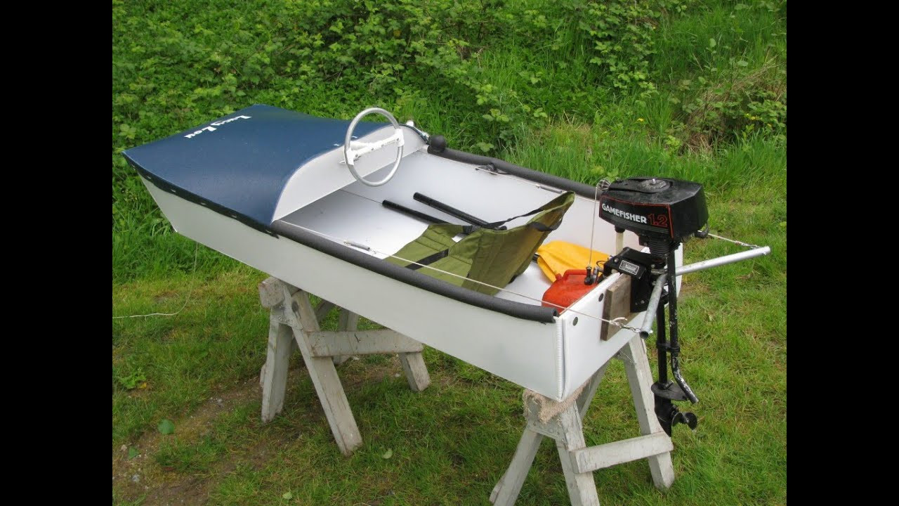 Best ideas about DIY Boat Plans . Save or Pin A houseboat tour with my DIY micro motor boat Now.