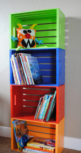 Best ideas about DIY Bookshelf For Kids . Save or Pin 40 Easy DIY Bookshelf Plans Now.