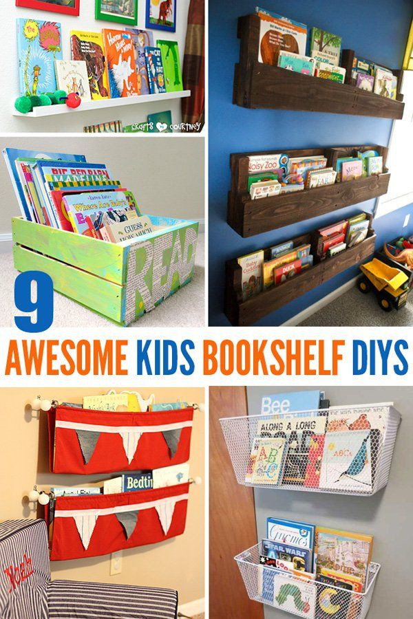 Best ideas about DIY Bookshelf For Kids . Save or Pin 9 Awesome DIY Kids Bookshelves Now.