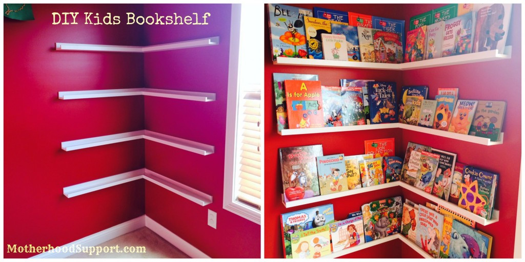 Best ideas about DIY Bookshelf For Kids . Save or Pin Kids Playroom Design Ideas & Storage Tips Motherhood Now.