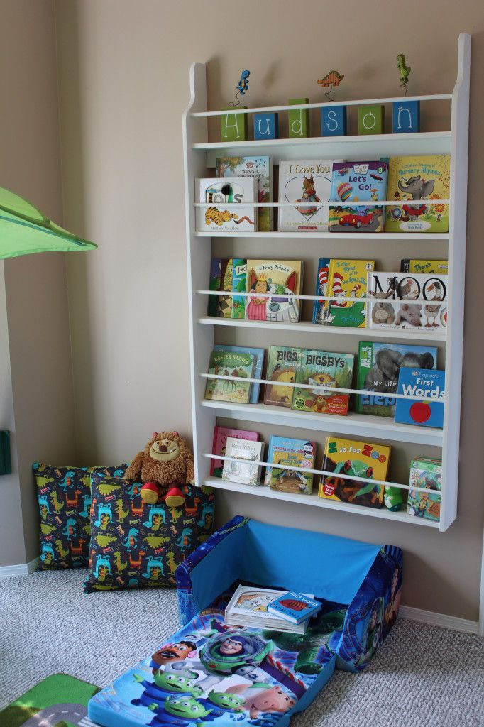 Best ideas about DIY Bookshelves For Kids . Save or Pin DIY KIDS SHELF visit mylittleboyblue Now.