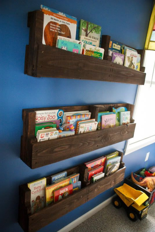 Best ideas about DIY Bookshelves For Kids . Save or Pin 60 Ways To Make DIY Shelves A Part Your Home s Décor Now.