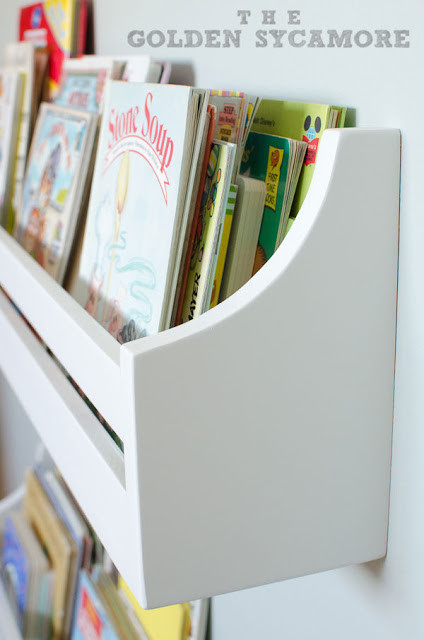 Best ideas about DIY Bookshelves For Kids . Save or Pin Wall Mounted Bookshelves The Golden Sycamore Now.