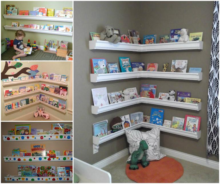 Best ideas about DIY Bookshelves For Kids . Save or Pin Wonderful DIY Smart Sheep Bookshelf For Kids Now.