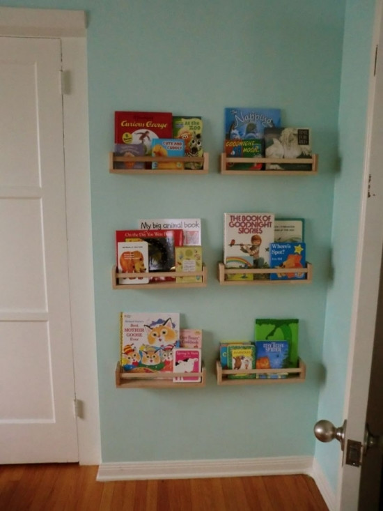 Best ideas about DIY Bookshelves For Kids . Save or Pin 50 Creative DIY Bookshelf Ideas Now.