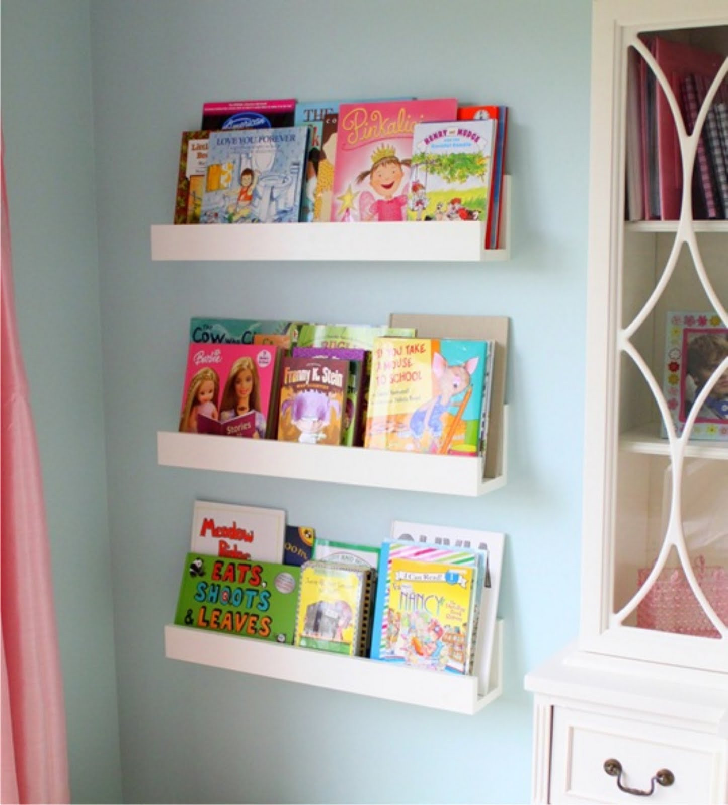 Best ideas about DIY Bookshelves For Kids . Save or Pin Winks & Daisies DIY Wall Shelves Now.