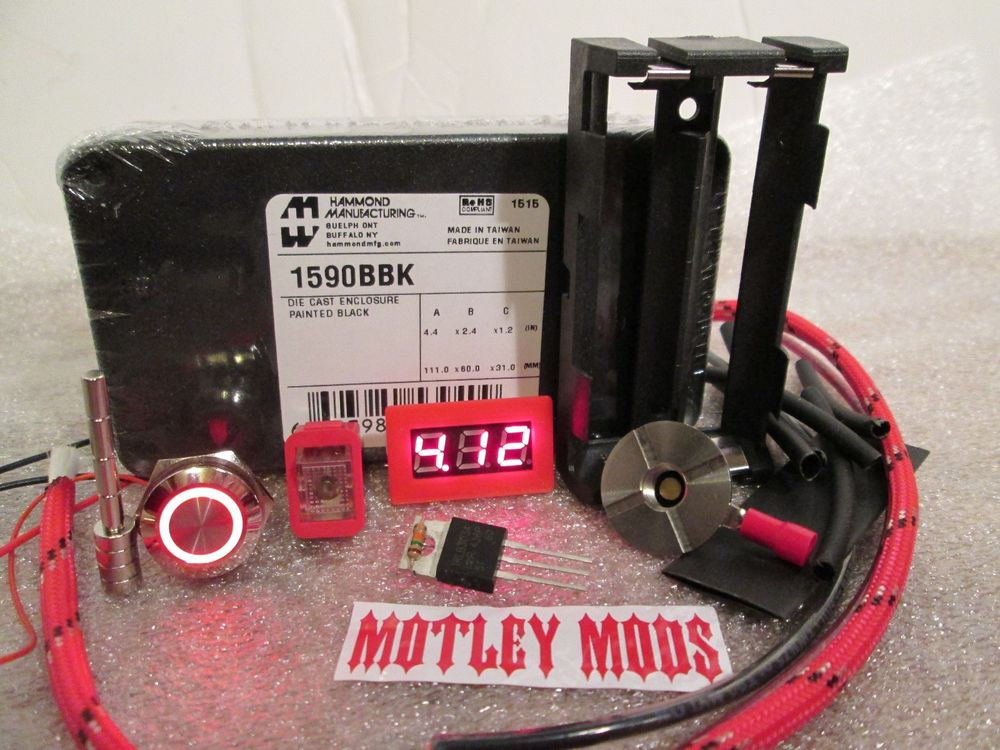 Best ideas about DIY Box Mod Kit . Save or Pin Unregulated Box Mod kit diy hammond 1590B 3034 mosfet Now.
