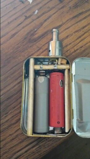 Best ideas about DIY Box Mod Kit . Save or Pin First DIY Altoids box mod Not too shabby Now.