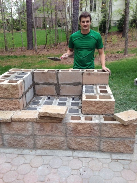 Best ideas about DIY Brick Patio . Save or Pin Life in the Barbie Dream House DIY Paver Patio and Now.