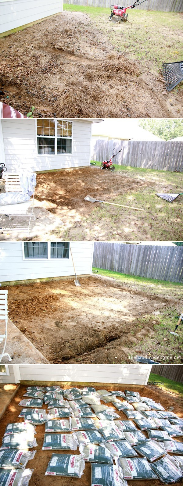 Best ideas about DIY Brick Patio . Save or Pin backyard bliss installing patio pavers and a fire pit Now.
