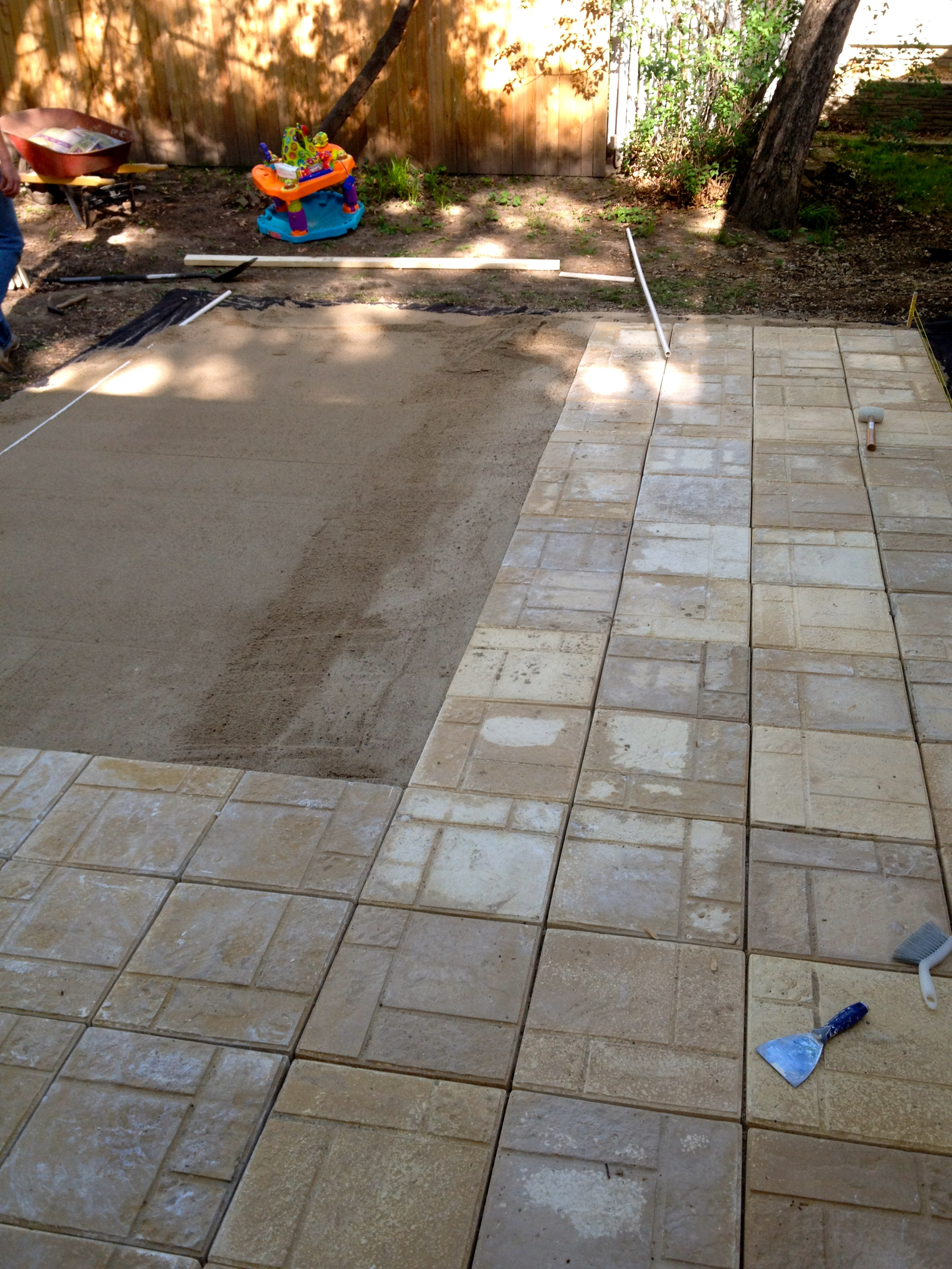 Best ideas about DIY Brick Patio . Save or Pin DIY Paver Patio Now.
