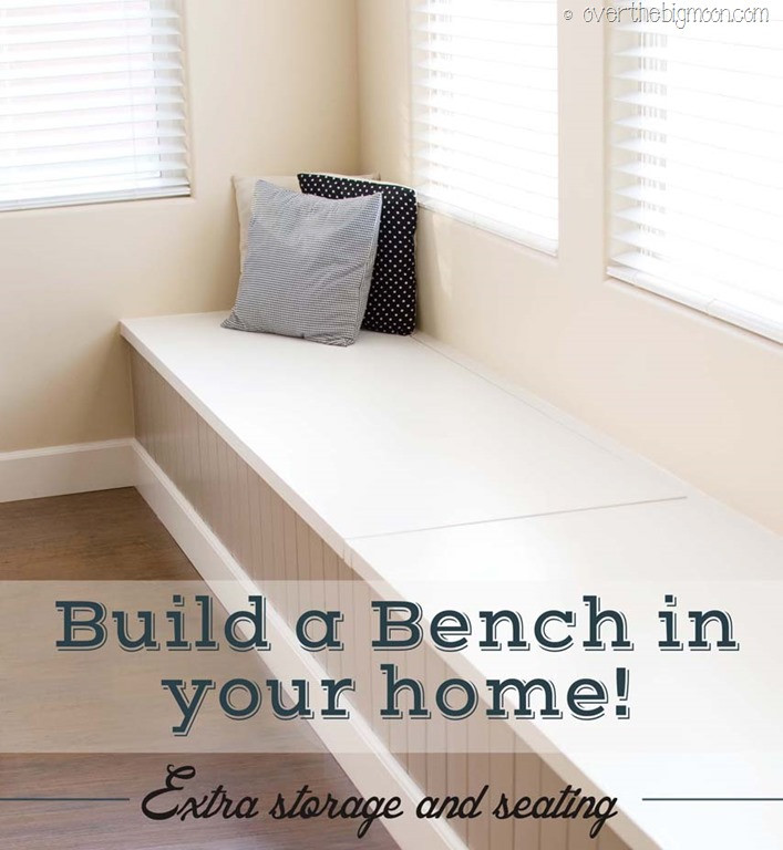 Best ideas about DIY Built In Bench . Save or Pin DIY Storage and Seating Bench Now.