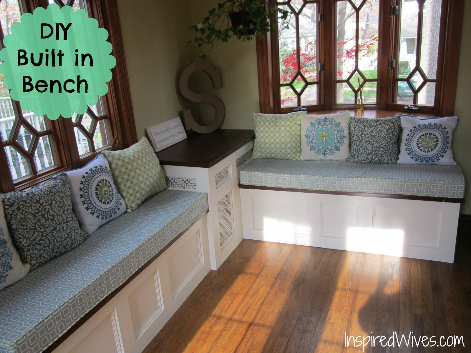 Best ideas about DIY Built In Bench . Save or Pin Built In Kitchen Bench Plans PDF Woodworking Now.