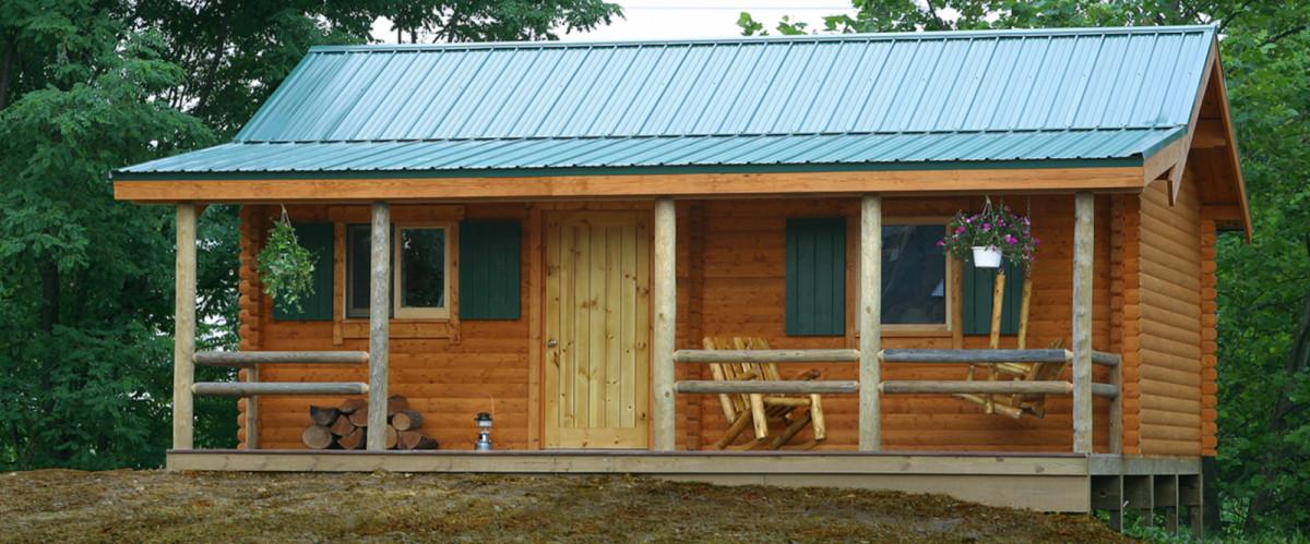 Best ideas about DIY Cabin Kit . Save or Pin DIY Log Cabin Kits Bear Creek Log Cabin Now.