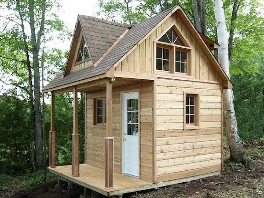 Best ideas about DIY Cabin Kit . Save or Pin Small Cabin Plans with Loft Kits Cabin Floor Plans with Now.