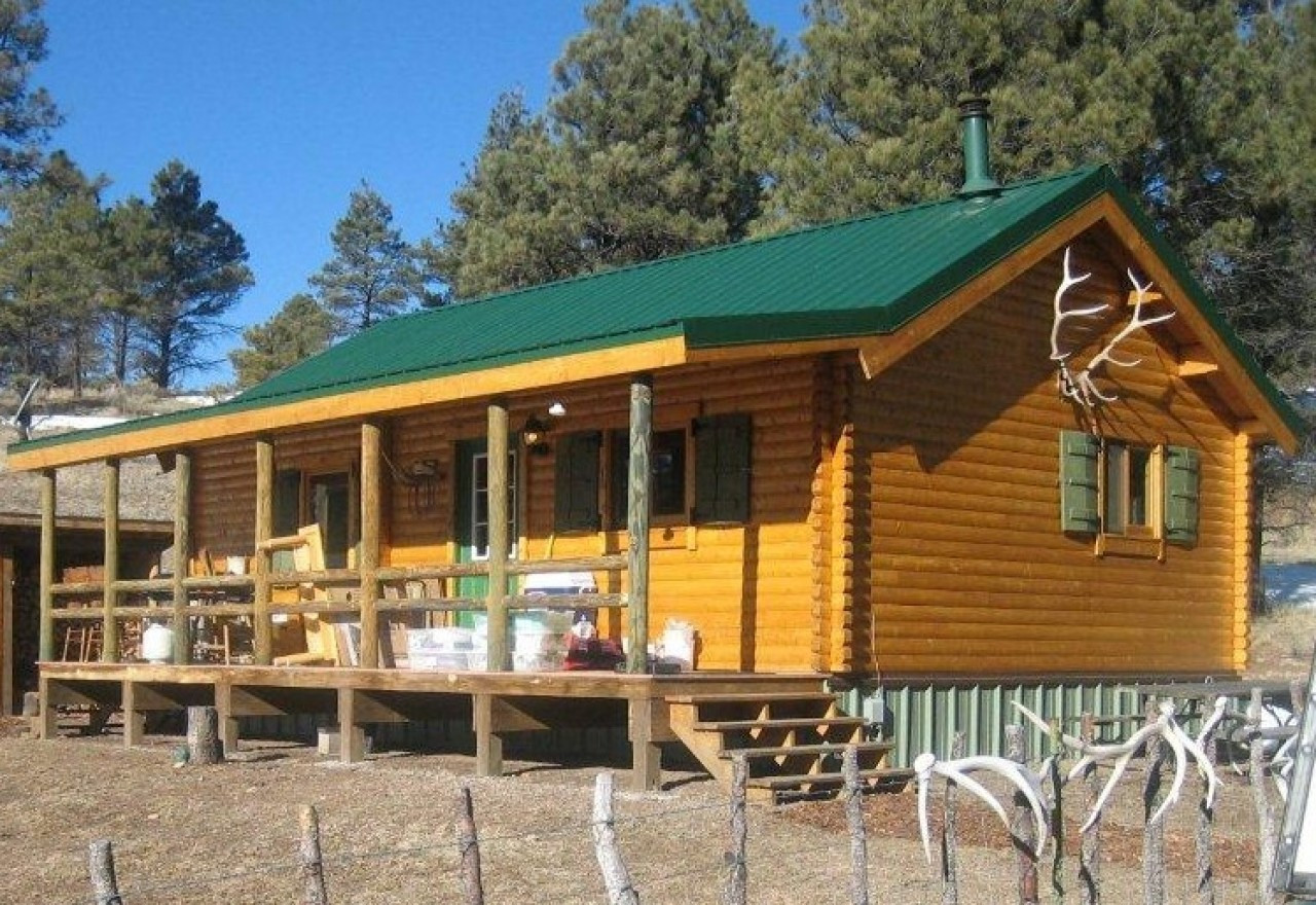 Best ideas about DIY Cabin Kit . Save or Pin DIY Cabin Kits Trout Run Log Cabin Now.