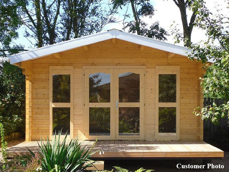 Best ideas about DIY Cabin Kit . Save or Pin DIY Small Log Cabin Kit Sunset Prefab Wooden Cabin Kit Now.